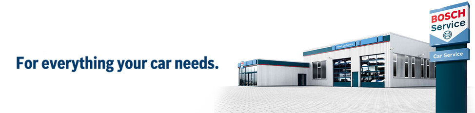 For everything your car needs.